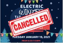 winter wonderland cancelled