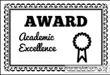 award certificate clip art