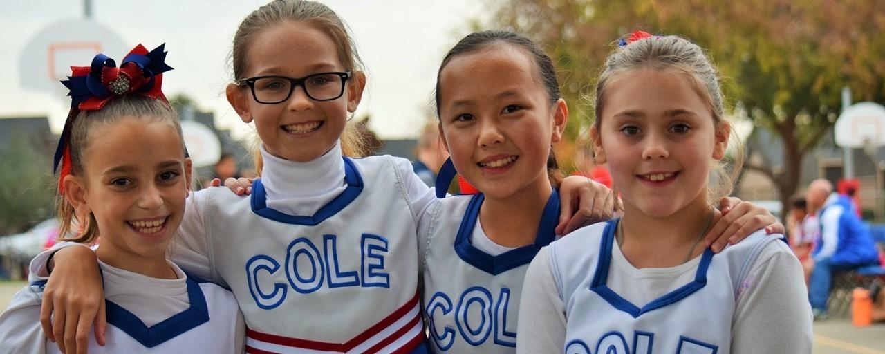 Cole Cheerleaders